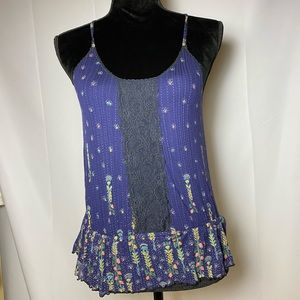 Free People Floral Cami - M
